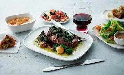 デルタ航空の機内食・春メニュー開始。米国農場から直接仕入れた新鮮食材も利用