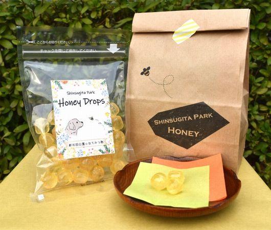 西武グループ、横浜市 新杉田公園にて収穫した「はちみつ飴」を新発売