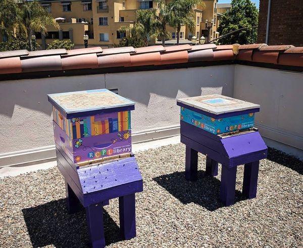 米国カリフォルニア州の図書館、屋上に養蜂箱を設置。本格的な商品販売へ