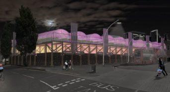 ロンドン、屋上に植物工場ファームを併設した地元フードコート施設を開設