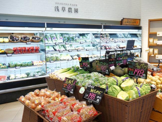 「浅草農園」を食生活提案型店舗としてリニューアル。JGAP野菜の提供も開始