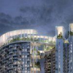 シンガポールの高層住宅タワーをリニューアル。屋上には住民参加型の菜園も整備