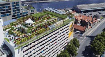 メルボルンに駐車場スペースを活用した屋上農園「スカイファーム」が来年に完成
