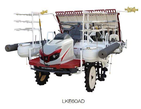 三菱マヒンドラ農機、乗用田植機4機種を販売開始