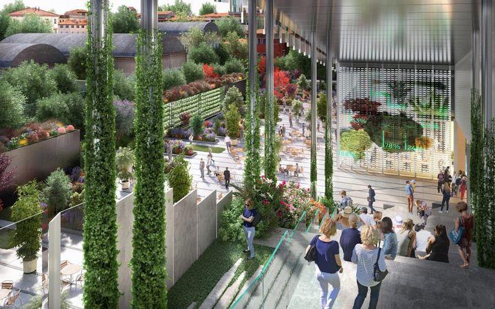 ミラン都市部で自然に囲まれたオフィス空間の実現。ハイテク企業や研究者のハブ施設へリニューアル