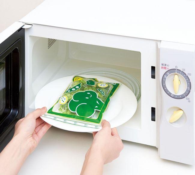 電子レンジで簡単加熱・栄養逃がさず美味しさキープ「ベジホクちゃん」