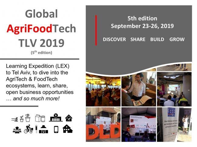 700社以上のスタートアップが存在するイスラエル「Agri&FoodTech」イベントに日本企業からの募集開始