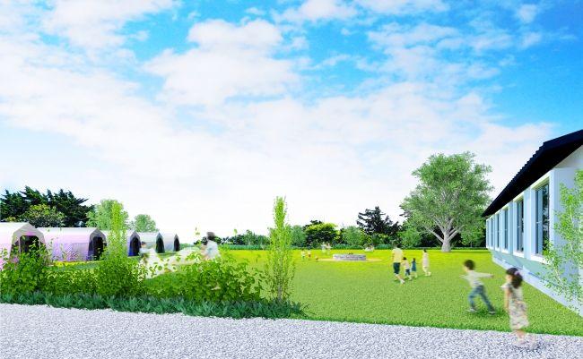 クラウドファンディング型の新不動産投資。元小学校保養所をホテルにリノベ・地域の一次生産者との連携へ