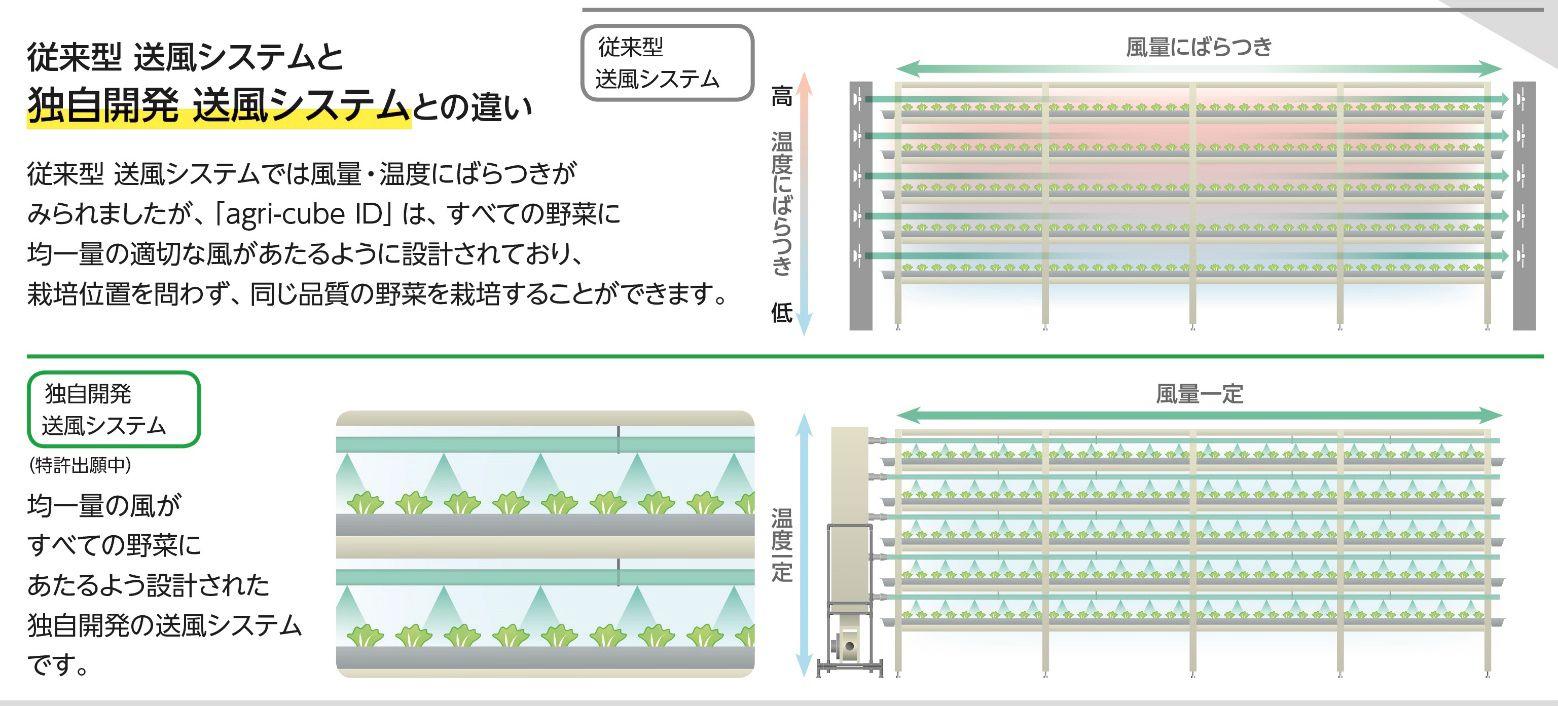 大和ハウスと三協立山、植物工場システム「agri-cube ID」を発売。最短32日でフリルレタスが栽培可能