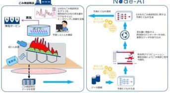 NTTコム、クボタと連携し稼働中のごみ焼却施設においてディープラーニングを活用した蒸気量予測を実施