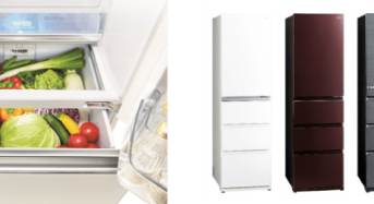業界初・冷蔵室から見渡せる野菜室、AQUA 冷凍冷蔵庫『Delie(デリエ)シリーズ』発売