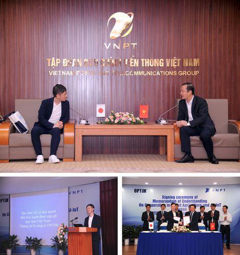 オプティム、ベトナム国営最大手通信グループVNPTと、 AIサービス・スマート農業分野において業務提携