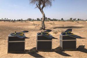 UAE環境省、ドローンを活用した農地調査を実施。施設園芸のデータ分類も