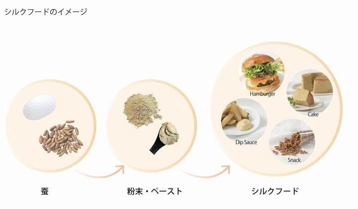 「蚕」を原料とした次世代食品「シルクフード」エリーが約4,500万円の資金調達