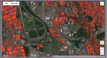 SAgri、全国の耕作放棄地の検出アプリを開発