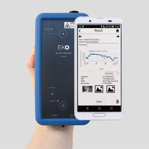 英弘精機、携帯型分光放射計を発売。農業・植物工場の施設内でも利用可能