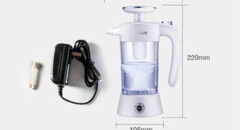 水道水と食塩で次亜塩素酸水がつくれる家庭用・電解水メーカー「GMAIR」