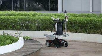 Doog、消毒剤などの噴霧散布のため無人移動ロボットの提供開始