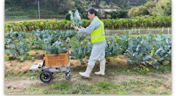 アトラックラボ、AIを利用した追従する収穫サポートロボットを開発