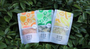 規格外野菜を使用した乾燥野菜「OYAOYA」アウトドアユーザ向けに販売開始