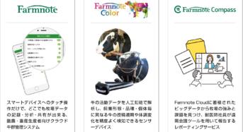 酪農・畜産IoTのファームノート、丸紅と協業開始。全国のネットワークを活用して商品の拡販へ