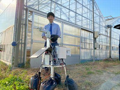サグリ、愛知県豊橋市にてビニールハウス施設内外での気象データ・定点観測を開始