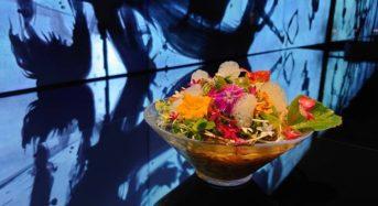 東京・豊洲「チームラボプラネッツ」アート空間で食べられるヴィーガン・ラーメン