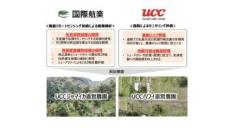 UCC上島珈琲と国際航業、衛星画像によるサステナブルな遠隔リモート管理の実証へ