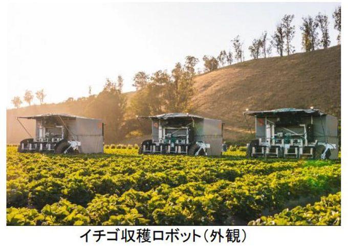 ヤマハ発動機とクボタ、イチゴ自動収穫ロボット開発の米ベンチャーに追加出資